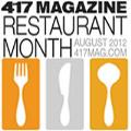 417 Magazine Restaurant Month